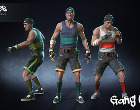 Male Gang 05 3D model