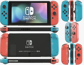 3D model Nintendo Switch Console