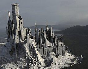 Medieval Fortress Dark ages 3D model
