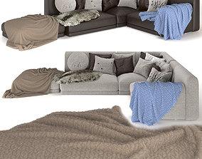3D model pillow SOFA-POLIFORM I Paris-Seoul