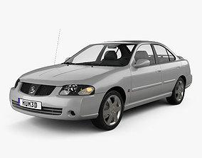 3D model Nissan Sentra SE-R 2004