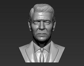 Ronald Reagan bust 3D printing ready stl obj