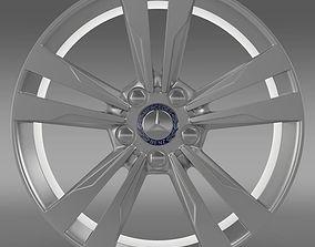 Mercedes Benz S 350 rim 3D