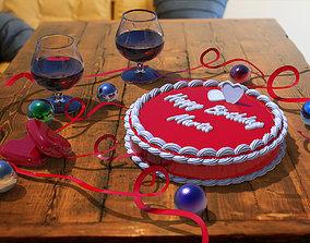 Cake model fbx