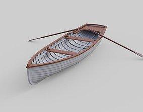 Rowboat 1B 3D asset