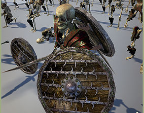 3D asset ARMY OF SKELETONS
