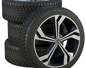 Audi wheels 3D