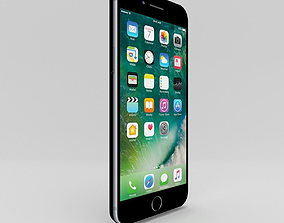 3D model Apple iPhone 7 Plus - Black