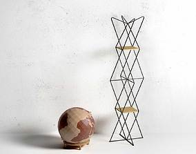 Globe with Dabliu Coatrack 3D