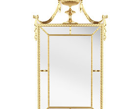 3D model Theodore Alexander Regal Reflection Mirror