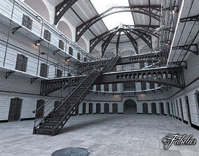 Prison 01 day 3D model