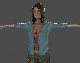 rigged Loish Character 3D