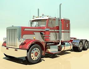 3D model 359 Semi Truck