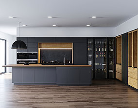 3D model Kitchen by Darren James interior