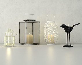 3D model Lanterns and tealights by ZARA HOME
