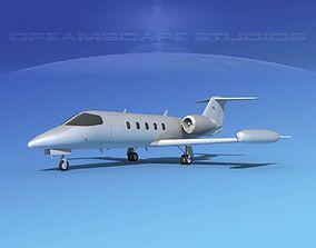 3D Learjet 35 Bare Metal