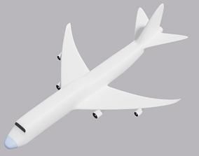 3D asset realtime Boeing 747