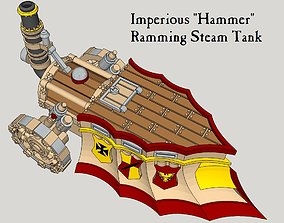 10mm Imperious Hammer Steam-Tank 3D printable model