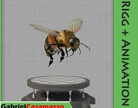 3D model Honey Bee