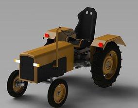 Tractor 3D print model truck