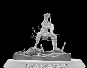 Kakashi Hatake character anime 3D print model