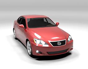 3D model LEXUS IS 2007 LOWPOLY