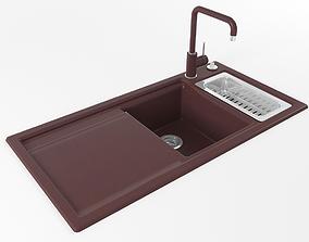 3D Kitchen sink 09