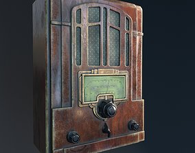 radio 3D model realtime