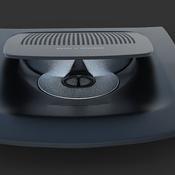 BANG & OLUFSEN in 3ds max For BMW M5