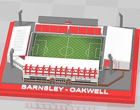 3D print model Barnsley - Oakwell