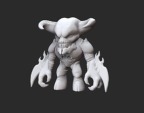 Baron Doom Collectable Toy 3D Model STL File