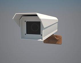 Camera 3D model lens