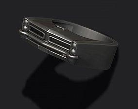 3D printable model car ring 30 old