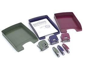 Leitz office accessories 3D model