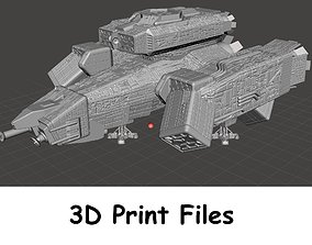 USCSS Nostromo Mining Vessel Digital File for 3D Printing