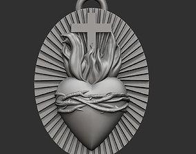 Sacred Heart 3D printable model