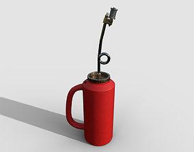 Drip Torch 3D asset