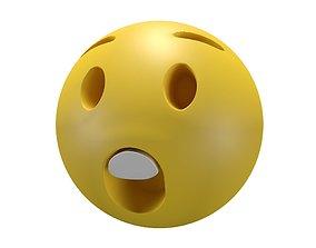3D asset Astonished Face