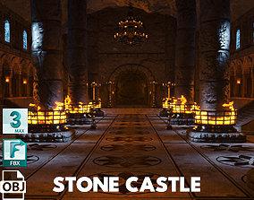 Stone Castle 3D model