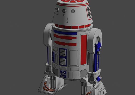 R5-D4 - Droid - Star Wars - Fan Art