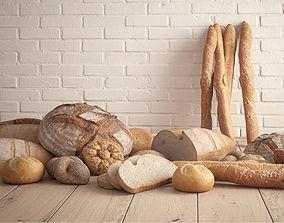 Bread Set 3D