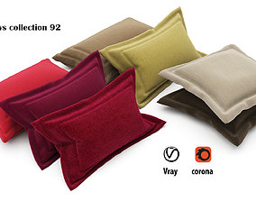 Pillows collection 92 3D
