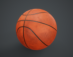 3D model Basketball Ball PBR Game Ready