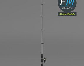 3D model PBR Fishing rod