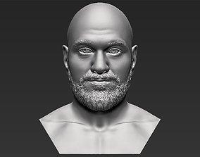 Tyson Fury bust 3D printing ready stl obj