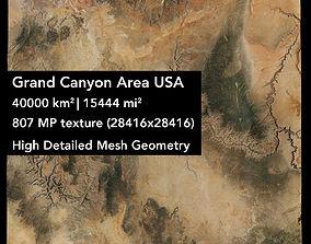 america 3D Grand Canyon Area USA