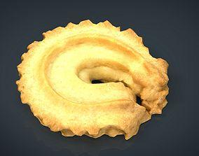 Danish Butter Cookie 1 3D asset