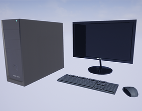 game-ready Computer 3dmodell