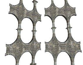 Gatehouse 01 Aqueduct Pillar 03 3D asset