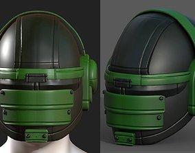 Helmet scifi fantasy futuristic military Scifi 3D asset